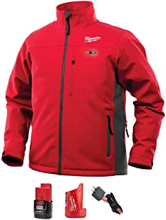 Milwaukee (MLW202R21L) Milwaukee M12 Heated TOUGHSHELL Jacket Kit L (RED)