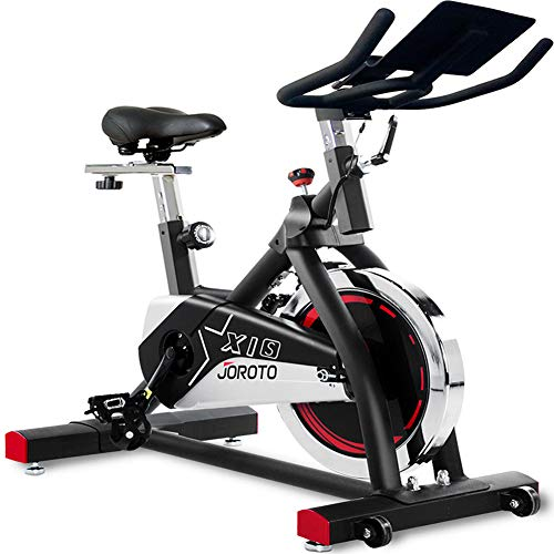 JOROTO Indoor Cycling Bike Stationary – Professional Exercise Bike for Home Cardio Gym Workout