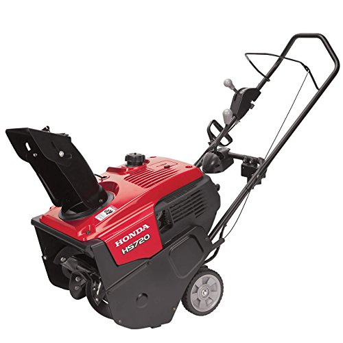 "Honda Power Equipment HS720ASA 20"" 187cc Single-Stage Snow Blower with Dual Chute Control and Electric Starter"