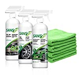 SansZo Waterless Car Care Kit 72 oz. - #1 on the market since