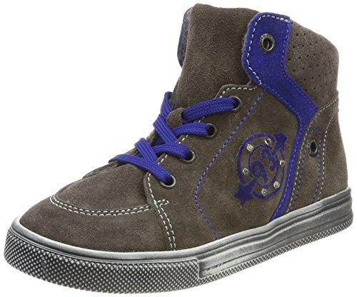 Richter Kinderschuhe Jungen Ola Hohe Sneakers, Mehrfarbig (Pebble/Cobalt 6611), 33 EU