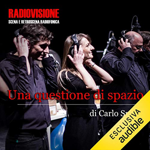Una questione di spazio audiobook cover art