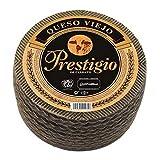 Queso Curado de Oveja Prestigio Cerrato - Queso de Oveja con un sabor con carácter e intenso - Peso Aproximado 2,7 Kilos