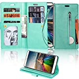 LAPOPNUT for HUAWEI Mate 10 lite Wallet Case PU Leather