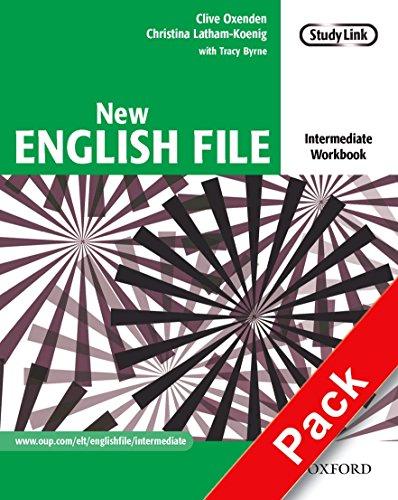 New English file. Intermediate. Workbook. Per le Scuole superiori. Con Multi-ROM: Six-level general English course for adults