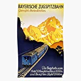German Vintage Germany Tourist Poster Partenkirchen Travel