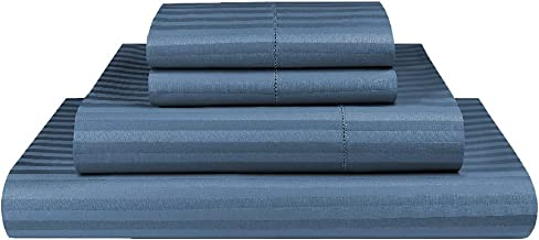 Luxor Linen 1000TC Ultra Soft Microfibre Sheet Set (1000TC-MIC-1CM-SS-D-OCE), Ocean, Double