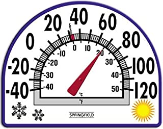 "Taylor Window Cling Thermometer 7"" Dia."