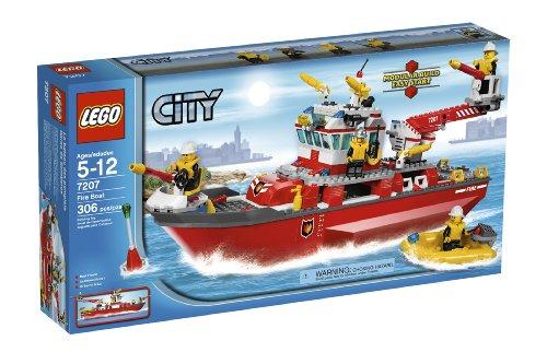 LEGO City Fire Ship (7207) by LEGO (English Manual)