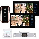 7 en 2 monitores Videoportero con Cable Videoportero Equipado 1000 Cable(British regulations (100-240V))