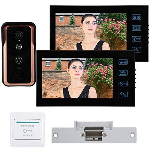 7 en 2 monitores Videoportero con Cable Soporte para teléfono Desbloqueo de(Australian regulations (100-240V))