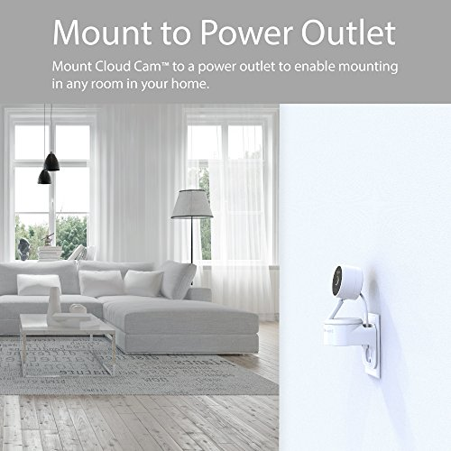 TotalMount Outlet Mount for Amazon Cloud Cam
