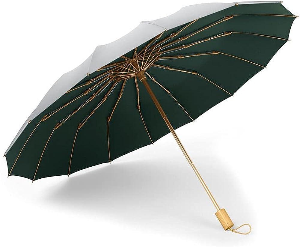 16K three folding umbrella titanium sunscreen coating New New color product type silver sun