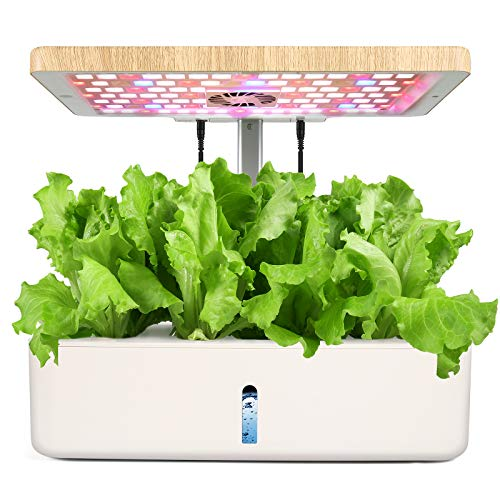 Royalsellpro 12 Pods Hydroponics Growing System, Indoor Herb Garden Kit With LED Grow Light, Automatic Timer Germination Kit With Height Adjustable, Smart Garden Planter For Kitchen Home