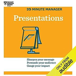 Presentations audiobook cover art