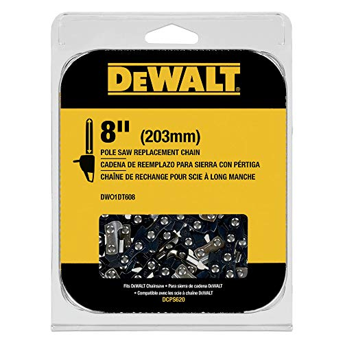 Dewalt DWO1DT608 8 in. Pole Saw Replacement Chain