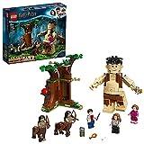 LEGO 75967 Harry Potter La Forêt Interdite : la Rencontre d'Ombrage, Ensemble de Construction avec Giant Grawp et 2 Figurines Centaures