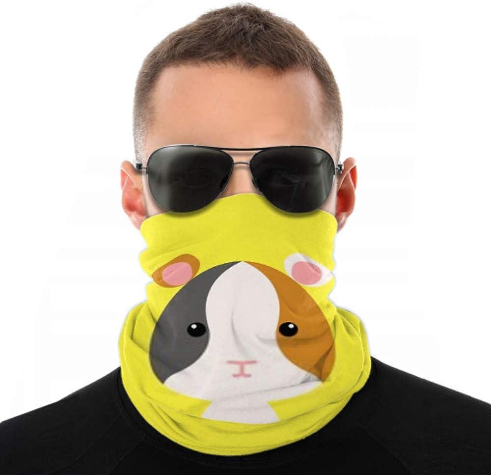 Headbands For Men Women Neck Gaiter, Face Mask, Headband, Scarf Cute Cartoon Wild Hamster Turban Multi Scarf Double Sided Print Face Mask Reusable For Sport Outdoor