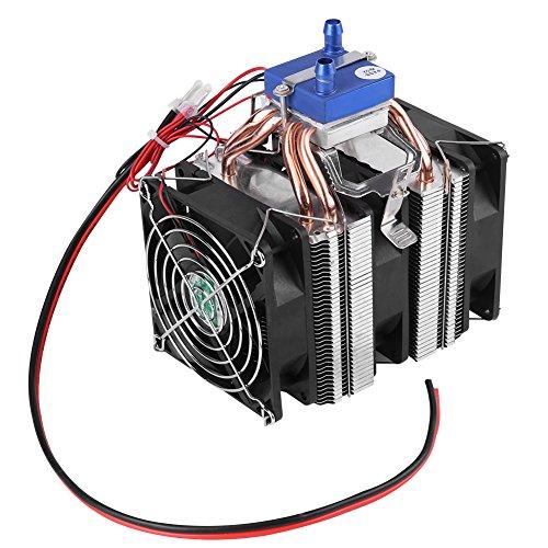 Doe-het-zelf mini-dual core elektrische halfgeleider koeler module thermo-elektrische Peltier koelkast aquarium koeler ventilator koelsysteem 120W(30L Aquarien)