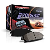 Power Stop Evolution 16882 Ceramic (Low Dust) Disc Brake Pad Axle Set by Power Stop