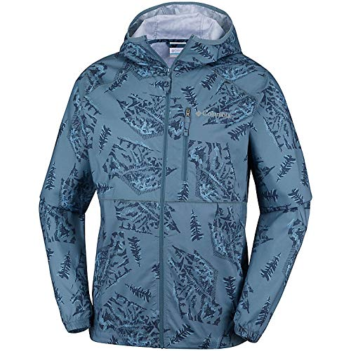 Columbia waterdichte windjack voor heren, FLASH FORWARD PRINTED, polyester, 1606803
