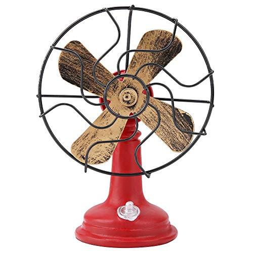 Regalo De NavidadEstilo de diseño vintage realista Exquisito modelo de ventilador eléctrico...