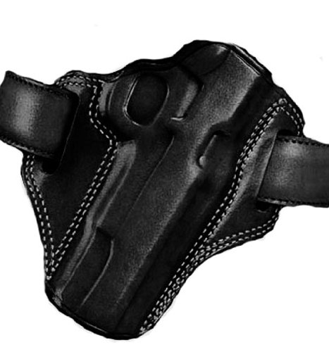 Galco Combat Master Belt Holster for 1911 4-Inch, 4 1/4-Inch Colt, Kimber, para, Springfield, Smith (Black, Right-Hand)
