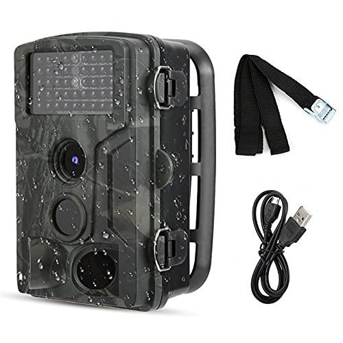 Cámara de visión nocturna por infrarrojos Calidad de imagen alta Sin flash en tomas nocturnas Videocámara de seguimiento de volumen ultra pequeño HD 1080P para fotografía automática de