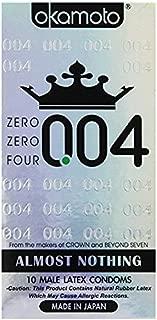 Okamoto 0.04 Zero Zero Four Condoms 10 ea pack (2 pack)