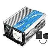 Giandel Inversor de Corriente 600w DC 12v a AC 220v 230v Onda sinusoidal Pura Silencioso Convertidor con Mando a Distancia & Puerto USB para Coche Camion