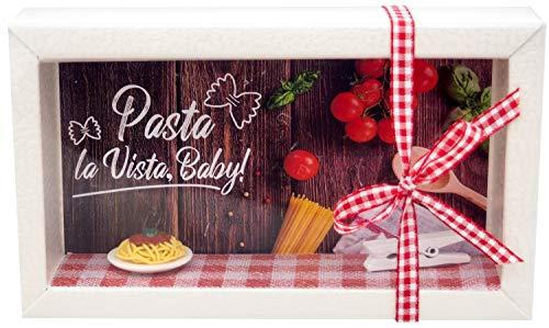 ZauberDeko Geldgeschenk Verpackung Pasta Essen Restaurant Essensgutschein Gutschein Geschenk Geburtstag