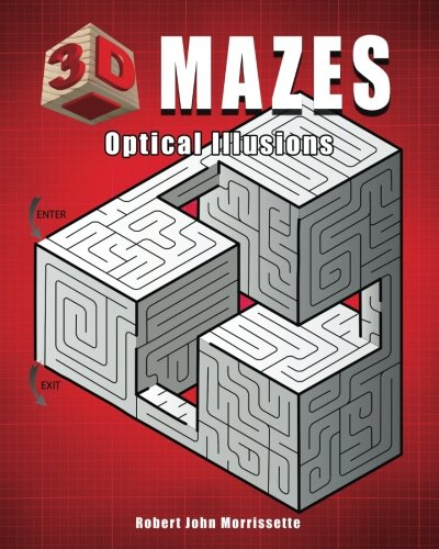 Compare Textbook Prices for 3D Mazes: Optical Illusions  ISBN 9780976354925 by Morrissette, Robert John
