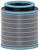 Leitz Trusens, Filtro de Tambor HEPA 3 en 1, Protección Frente a Virus y Alergias, Prefiltro de Malla y Filtro de Carbón para Purificadores de Aire Leitz Z-30000/Z-3500, Elimina Malos Olores, 2415119