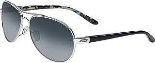 Women's OO4108 Tie Breaker Aviator Metal Sunglasses