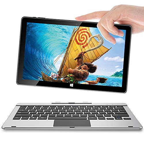 "11.6"" Windows 10 Tablet, Jumper EZpad 6s Pro Go pc Tablet with Keyboard Full HD Touchscreen Laptop 2 in 1 Tablet/Laptop 6GB RAM 128GB SSD (6GB)"