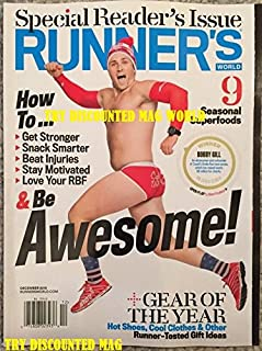 Runners World Special Reader's Issue Bobby Gill December 2015