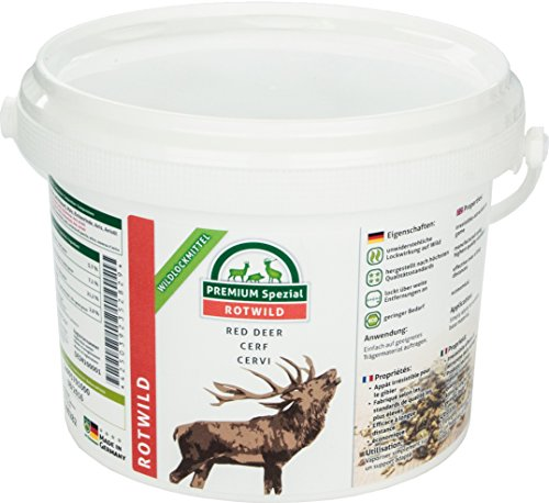 EUROHUNT Wildlockmittel Premium Spezial Rotwild - Reclamo y atrayentes para Caza ⭐