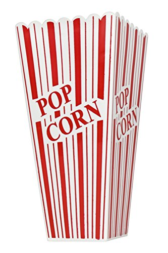 Product Image 2: Set of 8 Popcorn Plastic Container Box Tub Bowl – Presentation is Everything