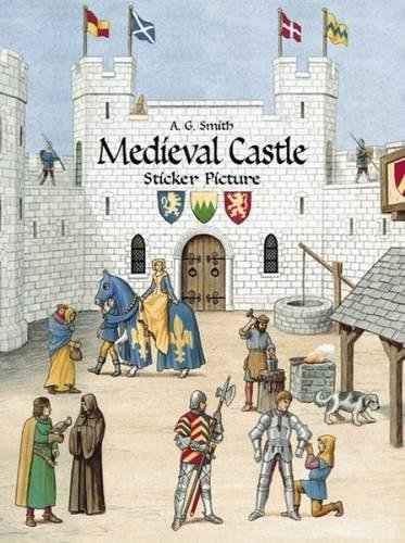 Medieval Castle Sticker Picture