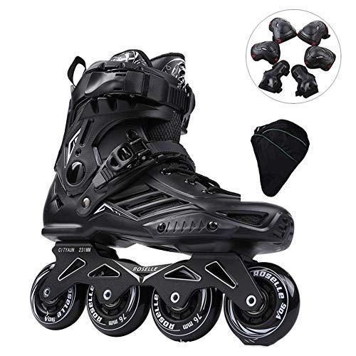 ZCPDP Rollschuhe Inline Speed Skates Schuhe Hockey Frauen Männer Rollschuhe Für Erwachsene Skates Inline Professional Skating Schuhe 35-44