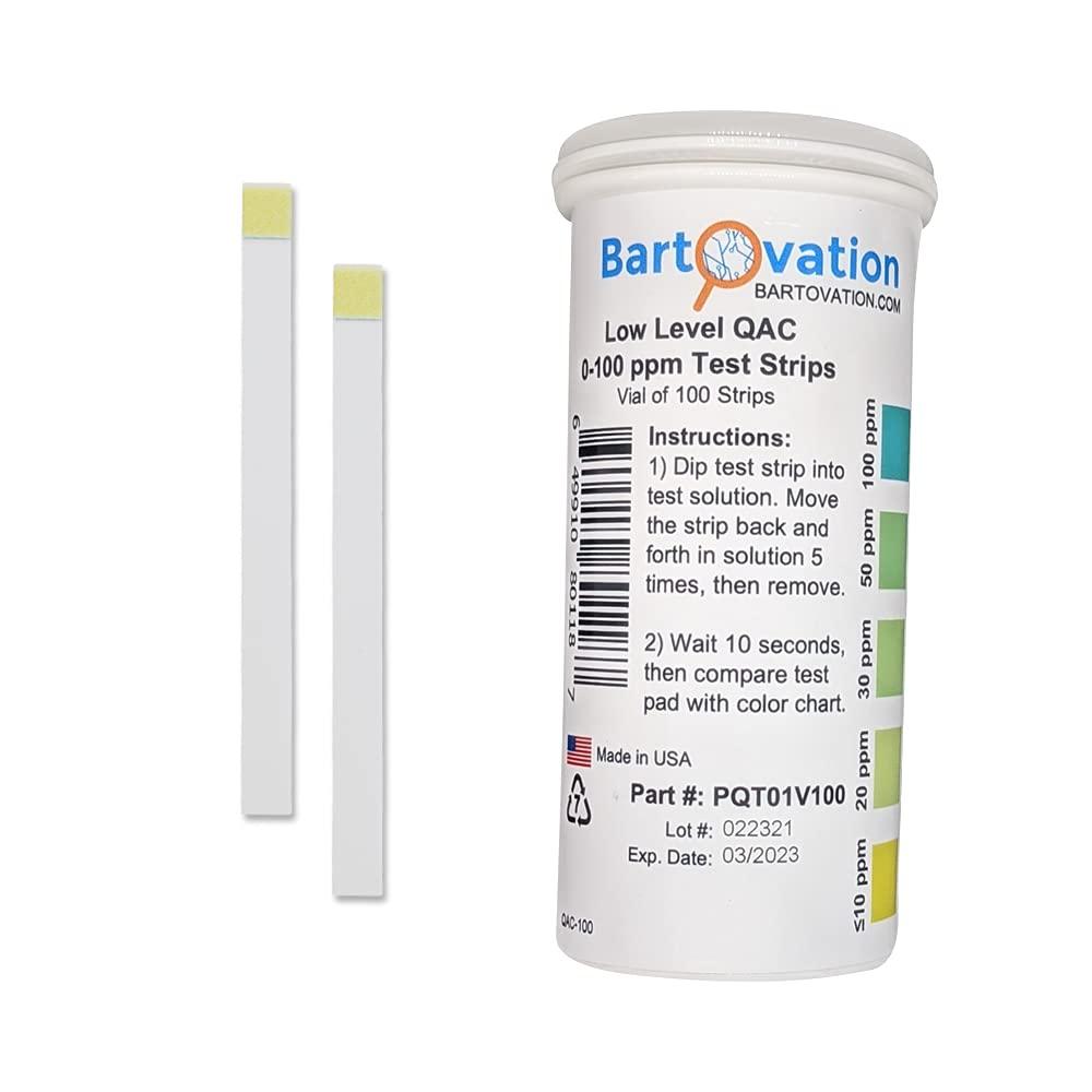 Low Level Residual Quaternary Ammonium (QAC, Multi Quat) Test St