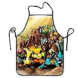 DianaRMurdhy Grembiule da cucina Pokemon Detective Pikachu Unisex Grembiule da cucina