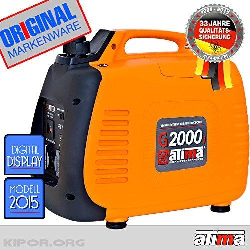 ATIMA G-2000i DIGITAL Inverter STROMERZEUGER Generator 2KW