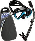 Cressi Ranger Schnorchelset - Schnorcheln Set mit Schnorchel und Taucherbrille, wasserdichte...