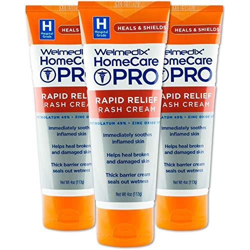 Welmedix Rapid Relief Diaper Rash Cream with Zinc Oxide,...