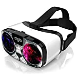 VR Headset for iPhone and Android Phones - Space Cat