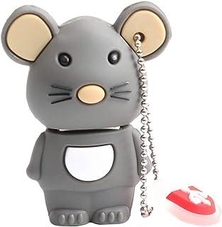 UKCOCO 32GB Mouse Shape USB Flash Drive Cute Memory Stick Animal Shape u Disk