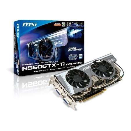 MSI NVIDIA GeForce GTX 560 Ti搭載ビデオカード N560GTX-TI Twin Frozr II OC