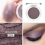 Beste Lidschatten Palette Augenpalette Eyeshadow Make Up Kosmetik Warme Natürliche Farben in Matt...