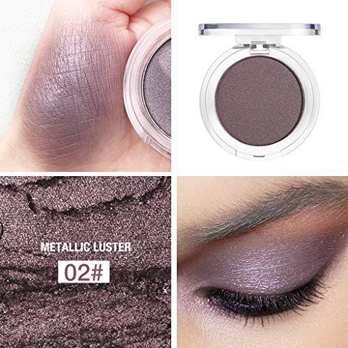 Make-up-Lidschatten, Lidschatten-Tablett,Momoxi Glitter Highlight Diamond Eyes Makeup Single...